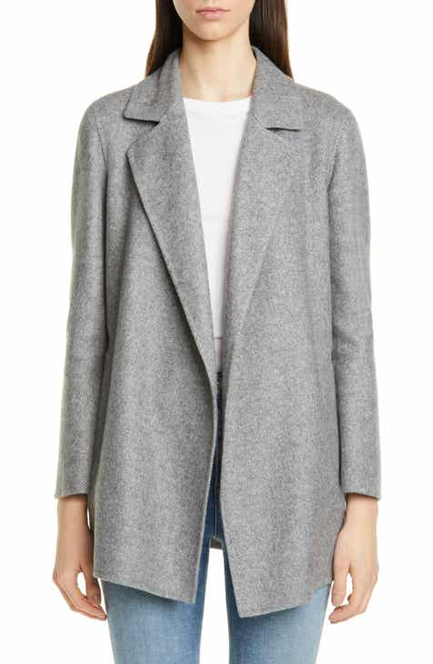 0b4f43f841a Theory Clairene Wool Blend Jacket