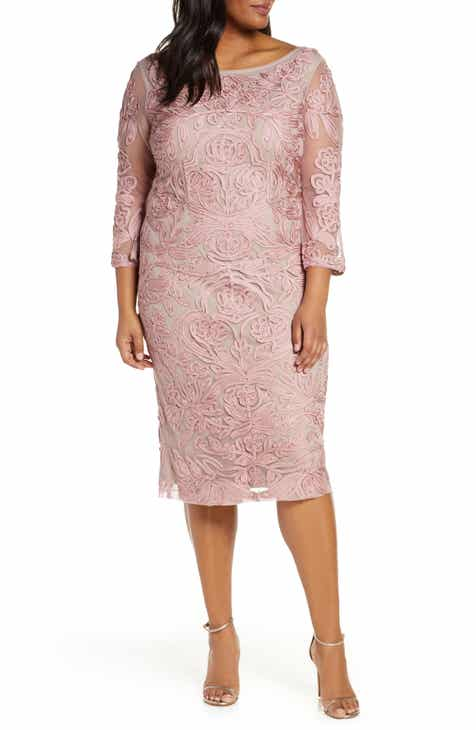 a8024b712f2 JS Collections Soutache Sheath Dress (Plus Size)
