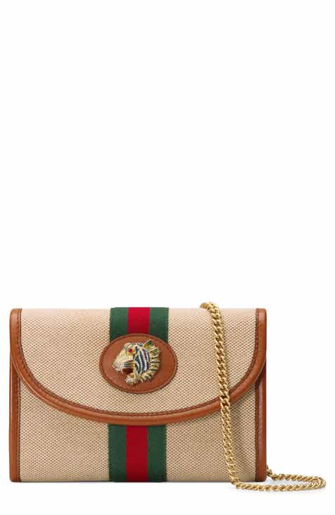 3a8d4fb1e86 Gucci Mini Rajah Canvas Crossbody Bag
