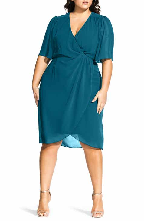55654bc80ed City Chic Twist Love Dress (Plus Size)