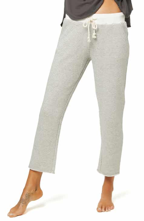 a9a5428b6 O'Neill Earnest Crop French Terry Sweatpants