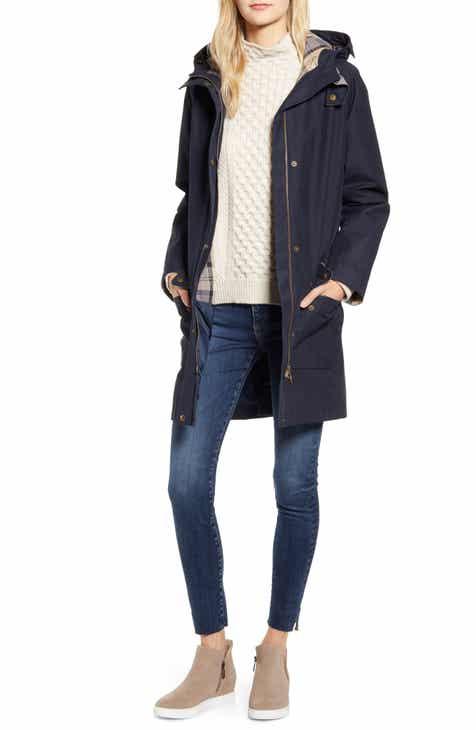 a63f8565691c7 Barbour Overcast Waterproof Raincoat with Hood. Sale:$252.90