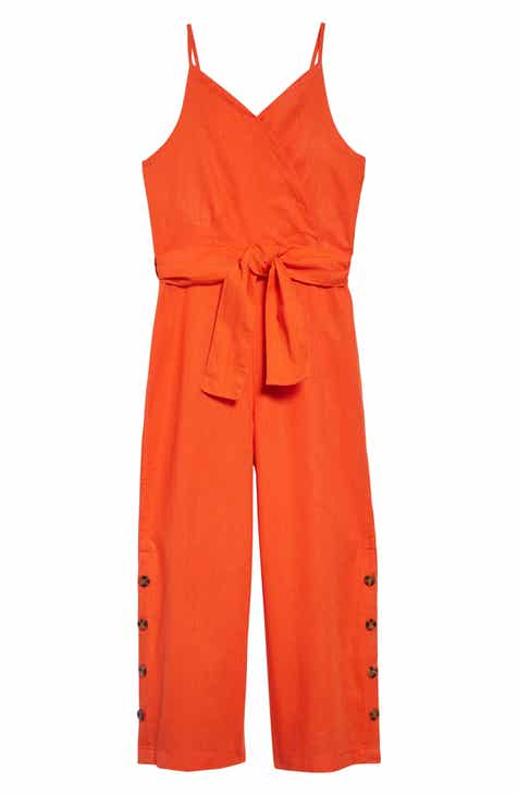 4082041543ab4 Big Girls' Orange Dresses & Rompers: Knit, Lace & Satin | Nordstrom