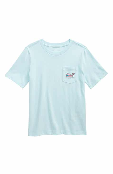 9ca054645dee3c vineyard vines Sportfisher Whale Pocket T-Shirt (Toddler Boys   Little Boys)