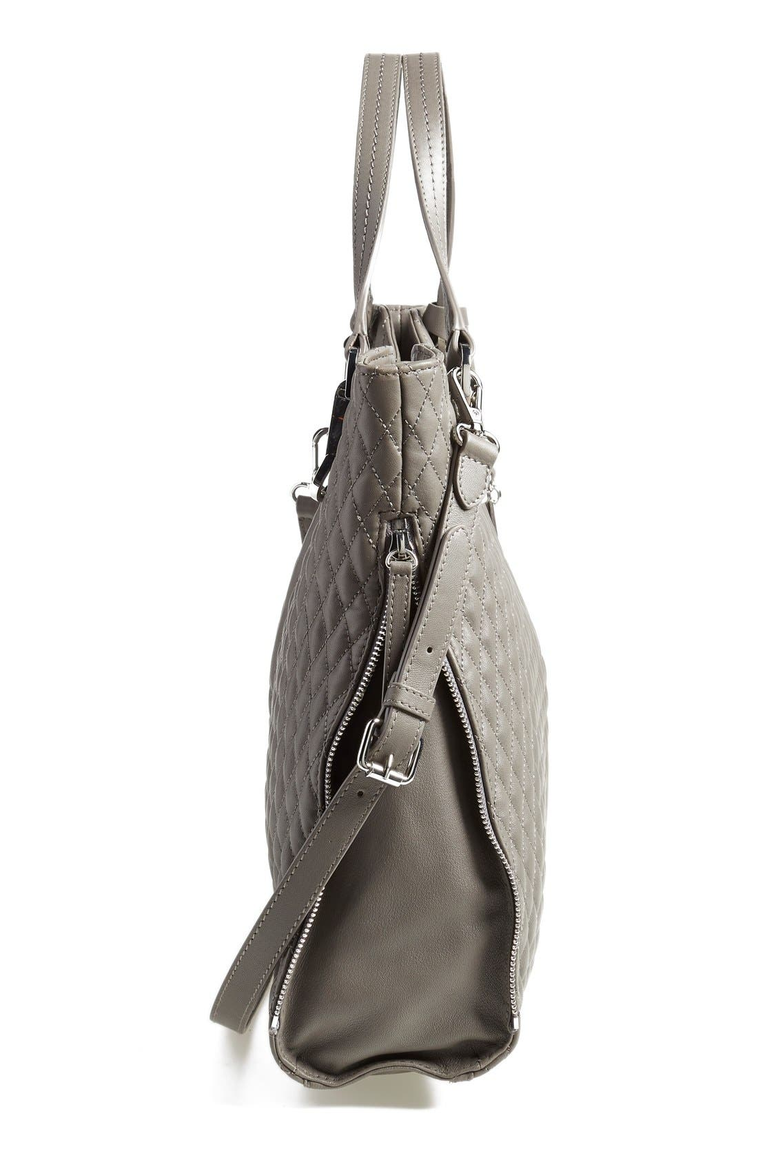 Alternate Image 5  - Vince Camuto 'Riley' Quilted Leather Tote