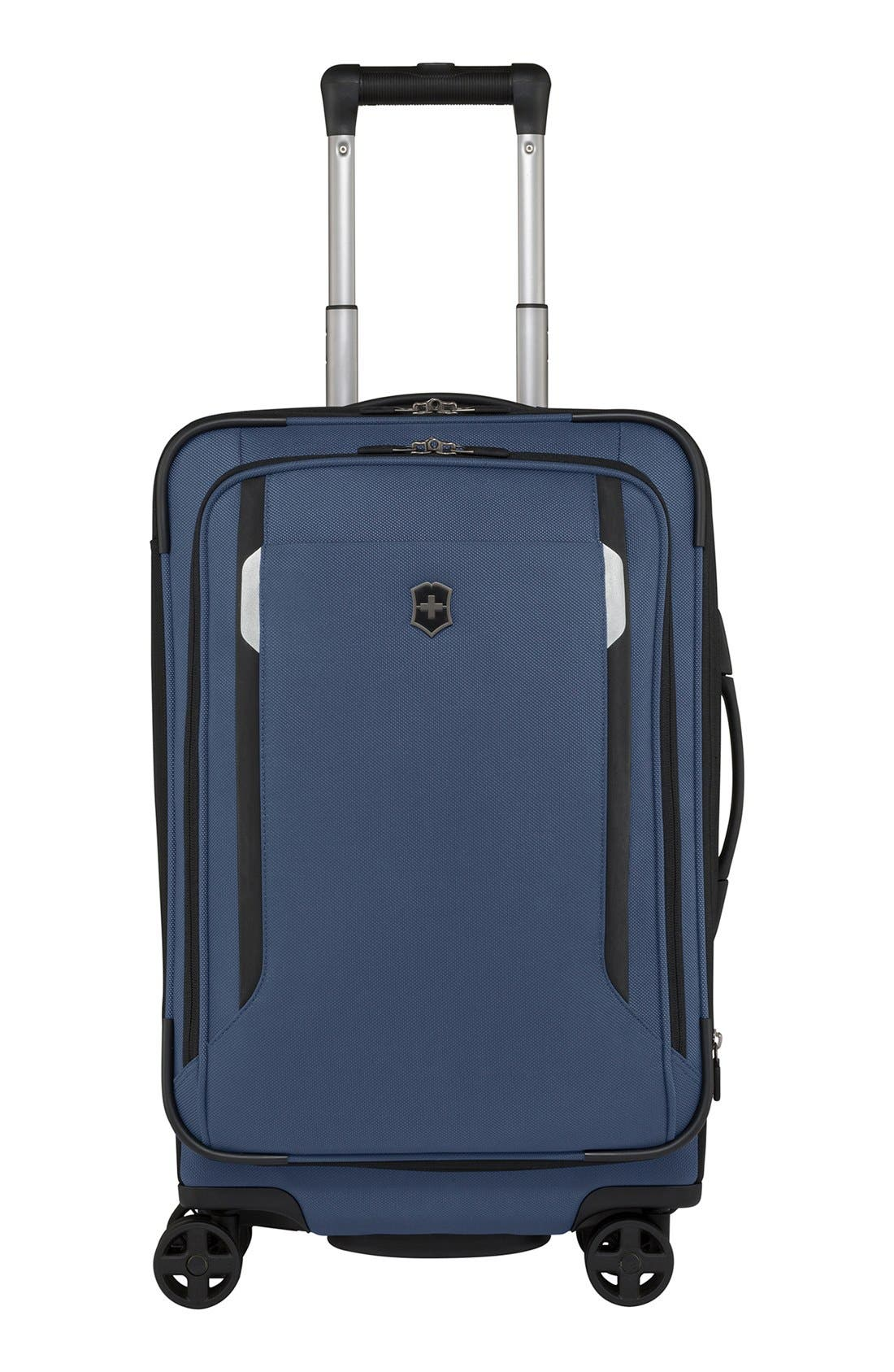 Alternate Image 1 Selected - Victorinox Swiss Army® 'WT 5.0' Dual Caster Wheeled Carry-On (22 Inch)