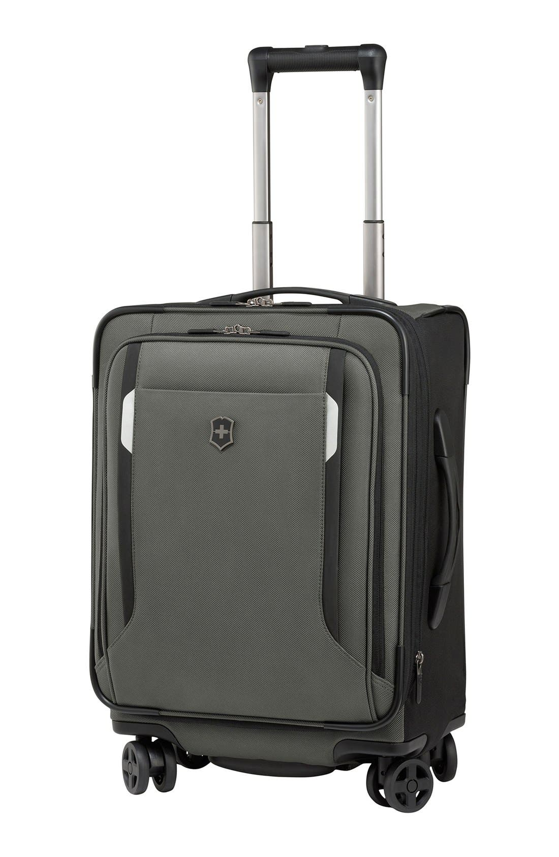 Alternate Image 1 Selected - Victorinox Swiss Army® 'WT 5.0' Dual Caster Wheeled Carry-On (20 Inch)