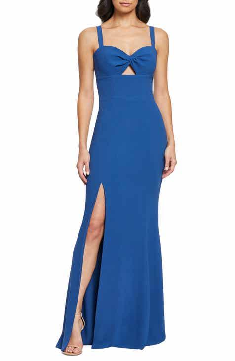 15e95c96c03e Dress the Population Brooke Twist Front Gown