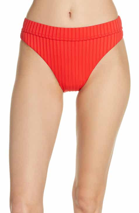 a3973c5a23 Billabong Sunny Maui Ribbed Bikini Bottoms