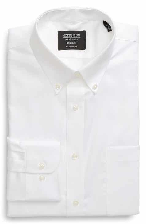 13015cbe62 Nordstrom Men's Shop Traditional Fit Non-Iron Dress Shirt