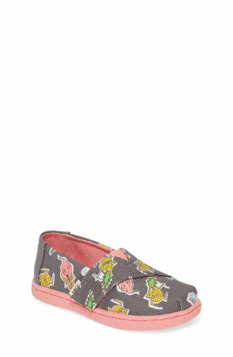 2a4c2095f TOMS Alpargata Classic Print Slip-On (Baby, Walker & Toddler)