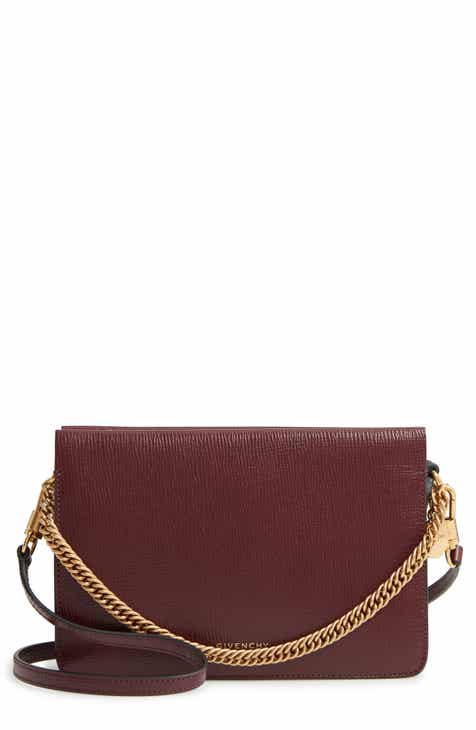 6969de3adb Givenchy Cross 3 Leather Crossbody Bag