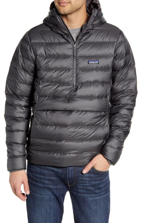 파타고니아 후드 패딩 Patagonia Quilted Down Pullover Hoodie,melt down forge grey