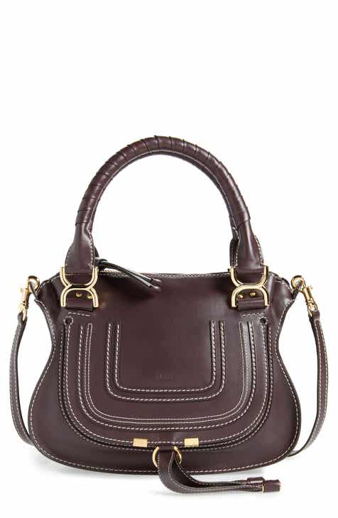 6e1d094dc Chloé Small Marcie Calfskin Leather Satchel