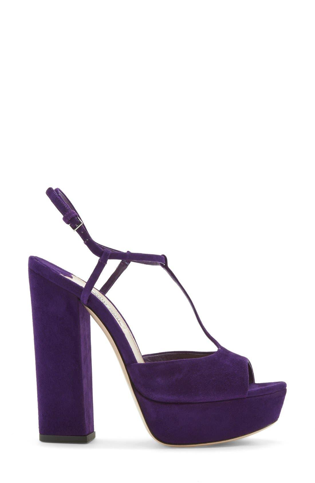 Alternate Image 4  - Miu Miu Mary Jane Platform Sandal (Women)