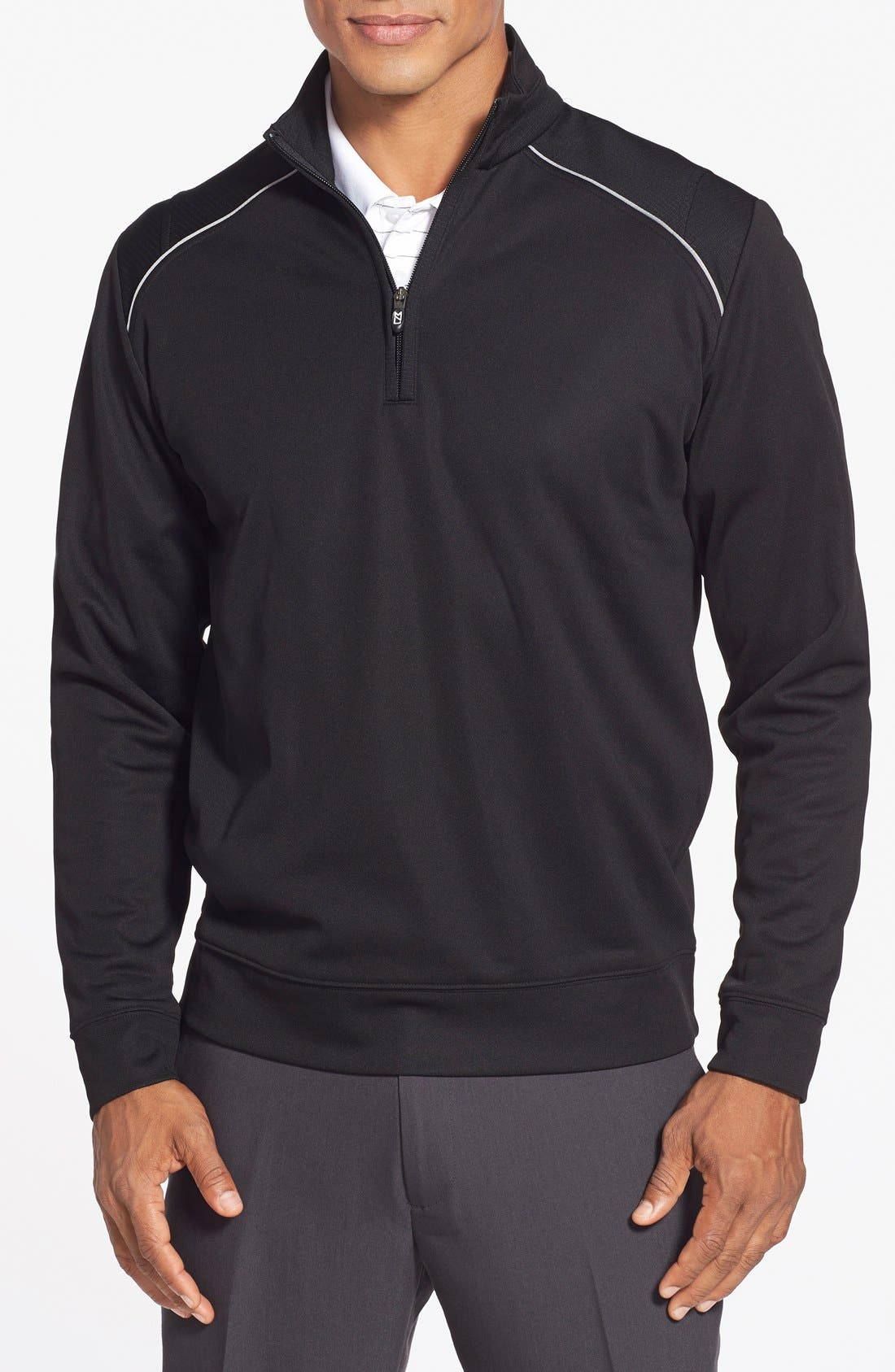 Cutter & Buck Ridge WeatherTec Wind & Water Resistant Pullover (Online Only)