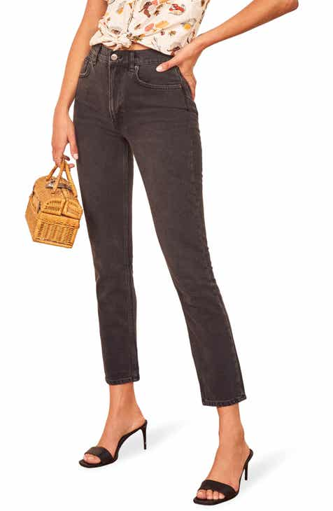 Reformation Julia High Waist Cigarette Jeans