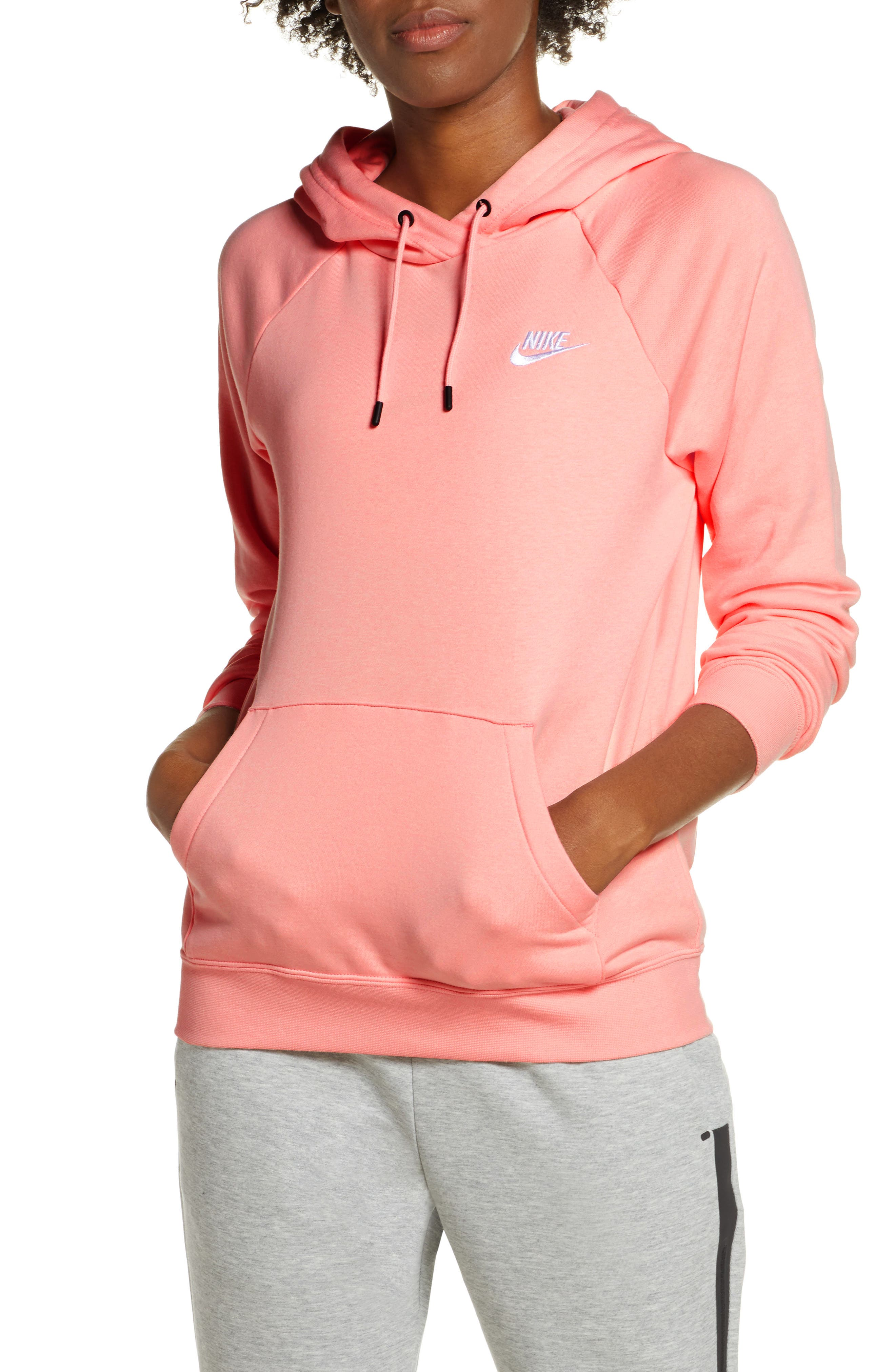 Nike Sweat à capuche Femme Nike Sportswear Heritage (rosa