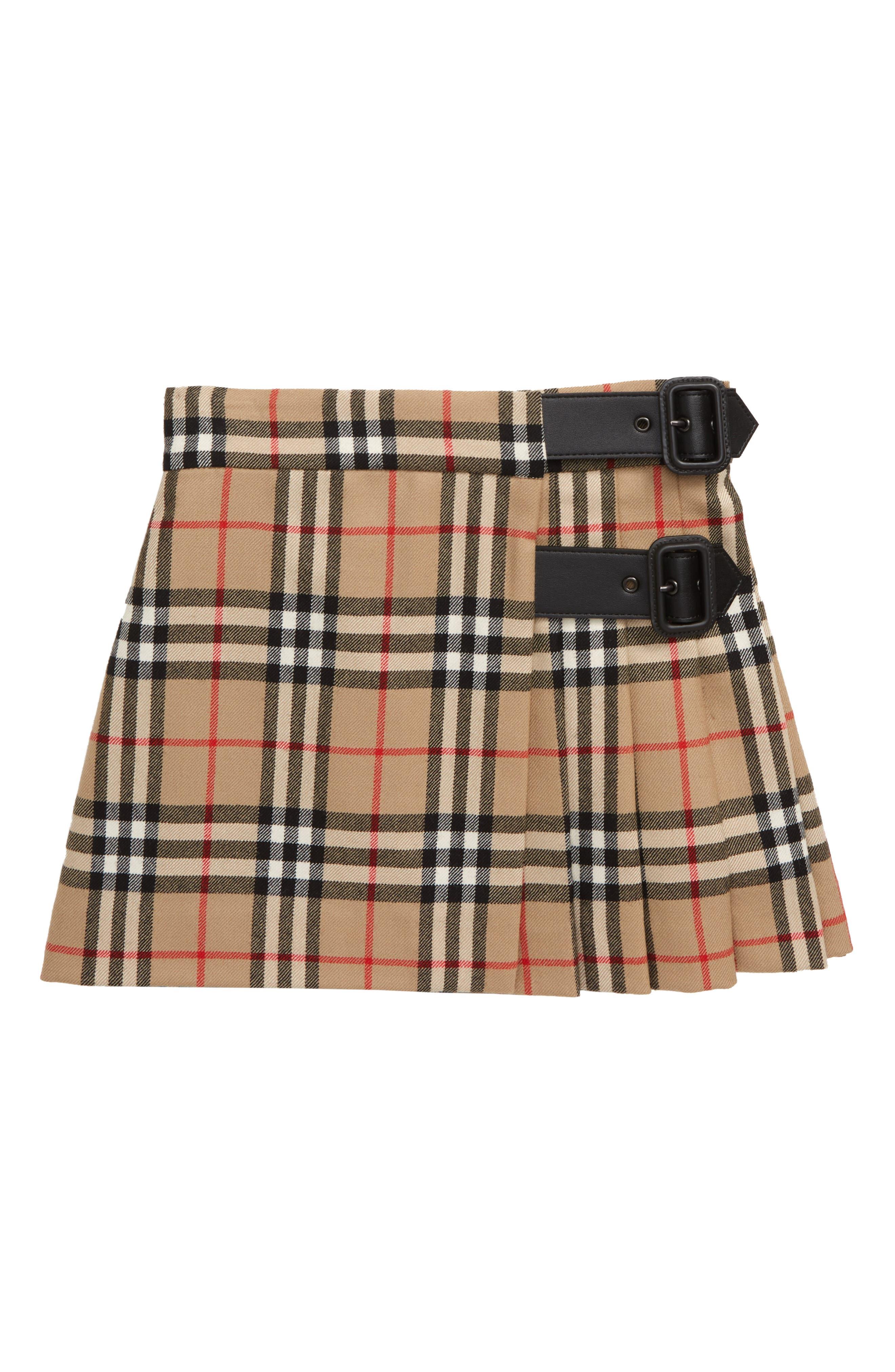 Fashion Plaid Skirt for 0-3 Years Toddler Newborn Kids Casual Skirt Short Dresses