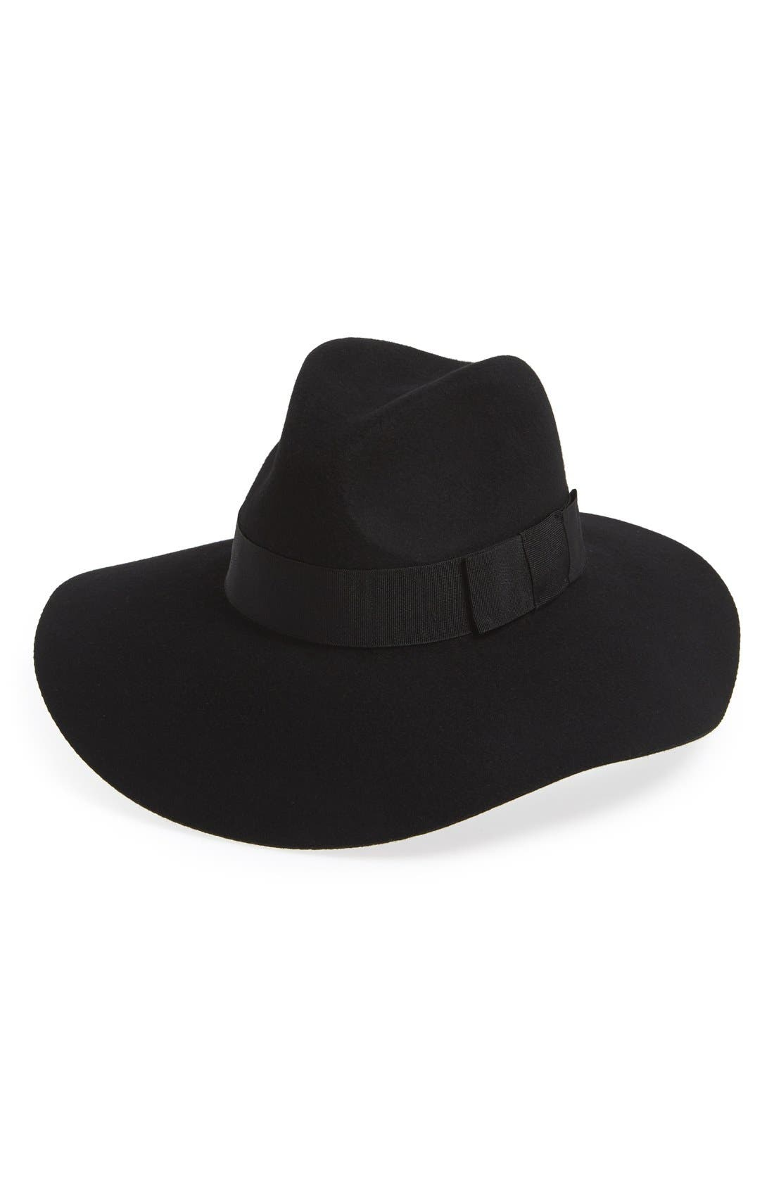 BRIXTON Piper Floppy Wool Hat