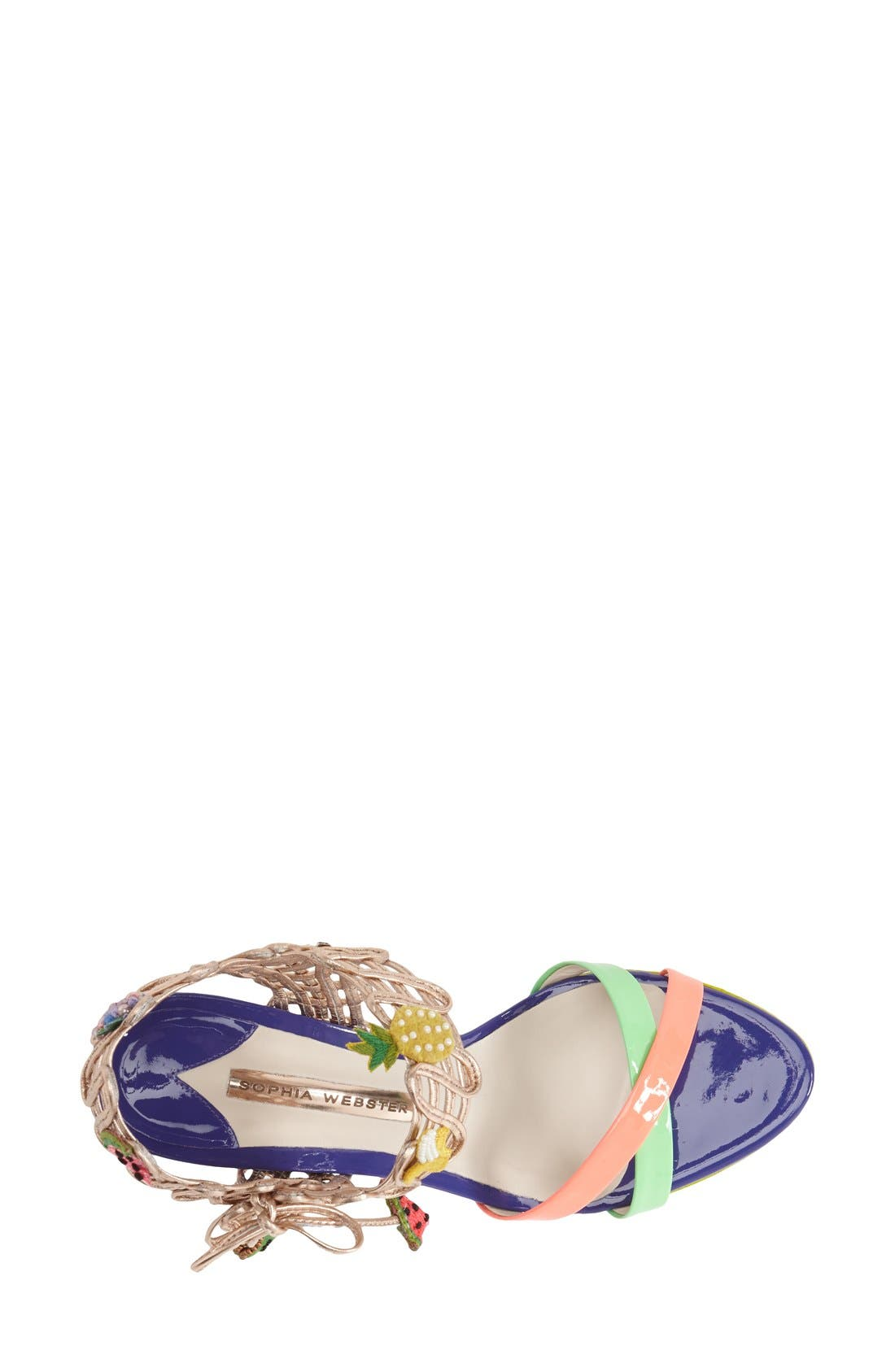 Alternate Image 3  - Sophia Webster 'Delphine Fruit' Sandal (Women)