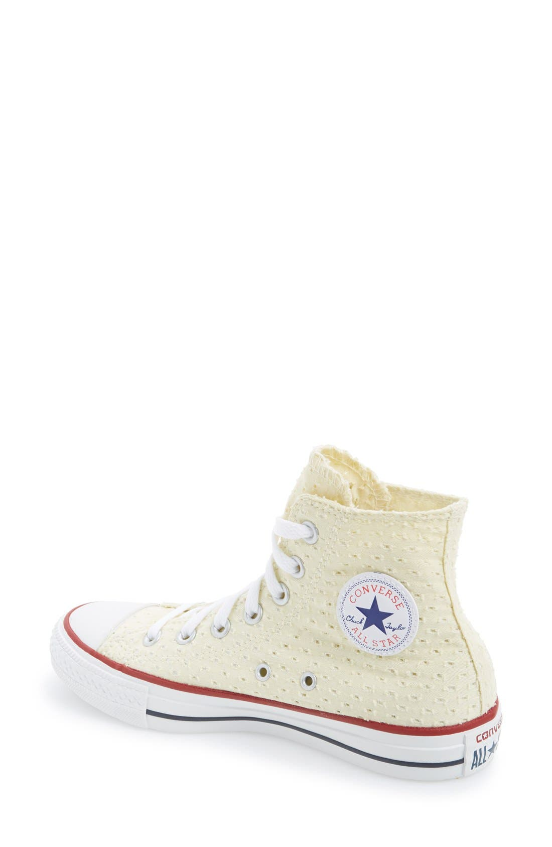 Alternate Image 2  - Converse Chuck Taylor® All Star® Eyelet Perforated High Top Sneaker (Women)
