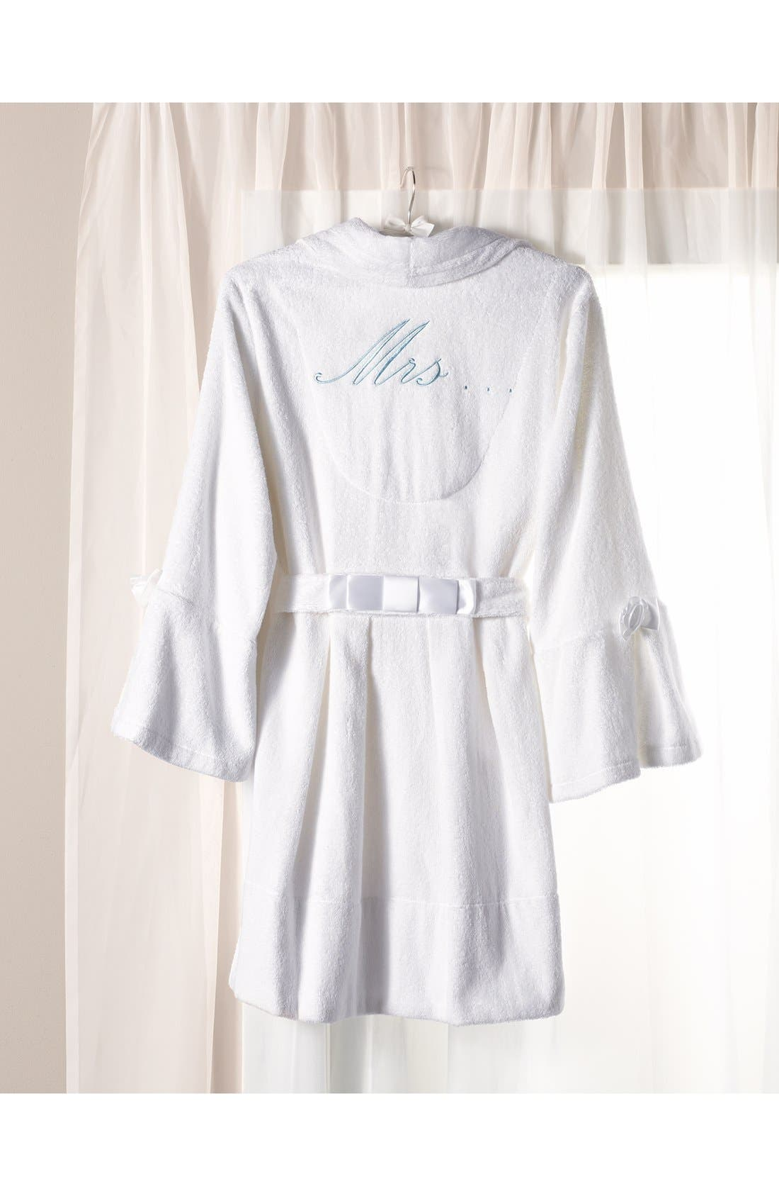 Alternate Image 4  - Betsey Johnson Terry Honeymoon Robe