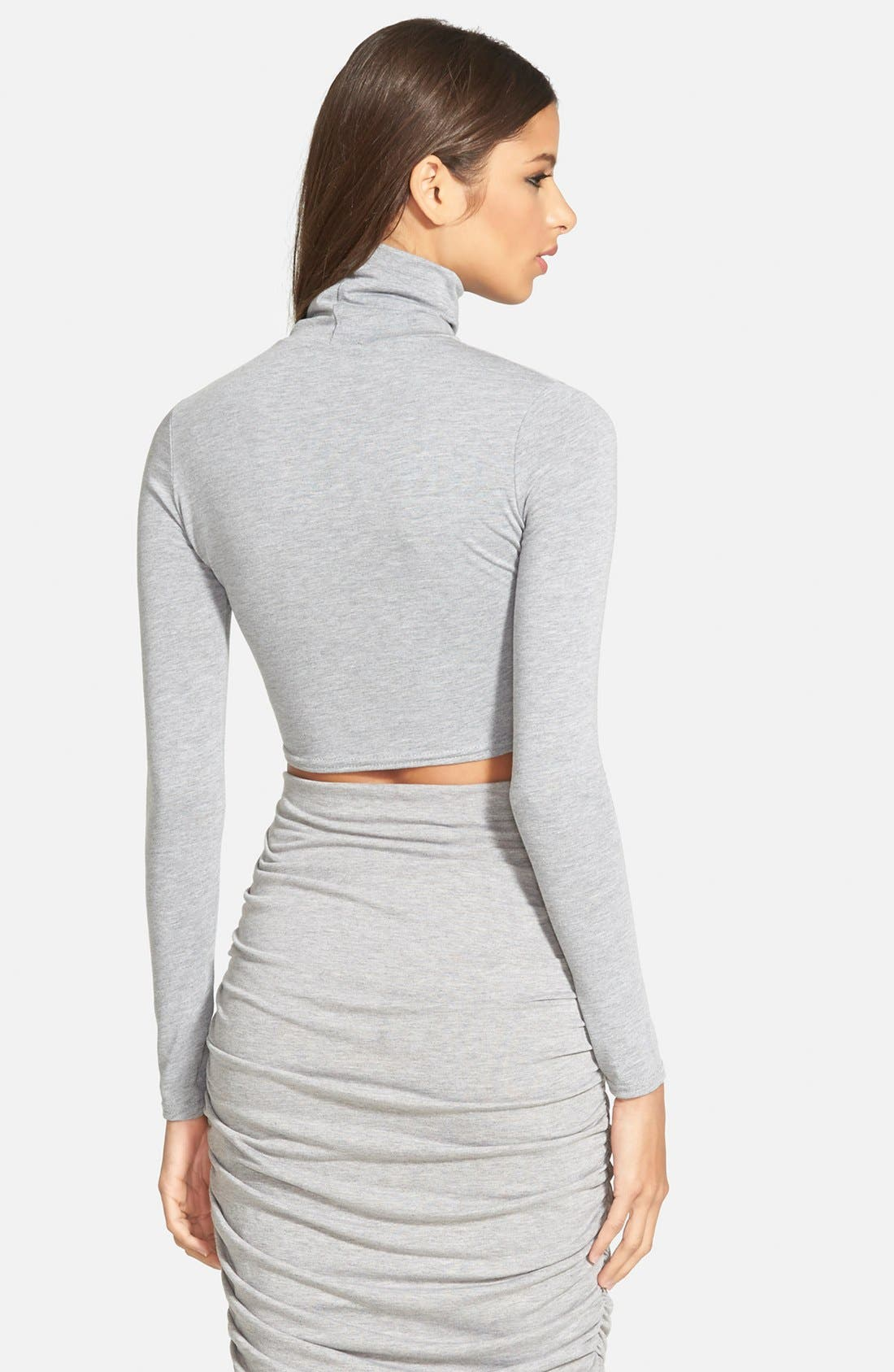 Alternate Image 3  - Missguided Turtleneck Crop Top