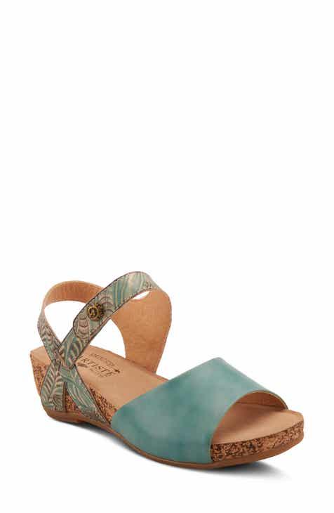L'Artiste Ceylan Wedge Sandal (Women)