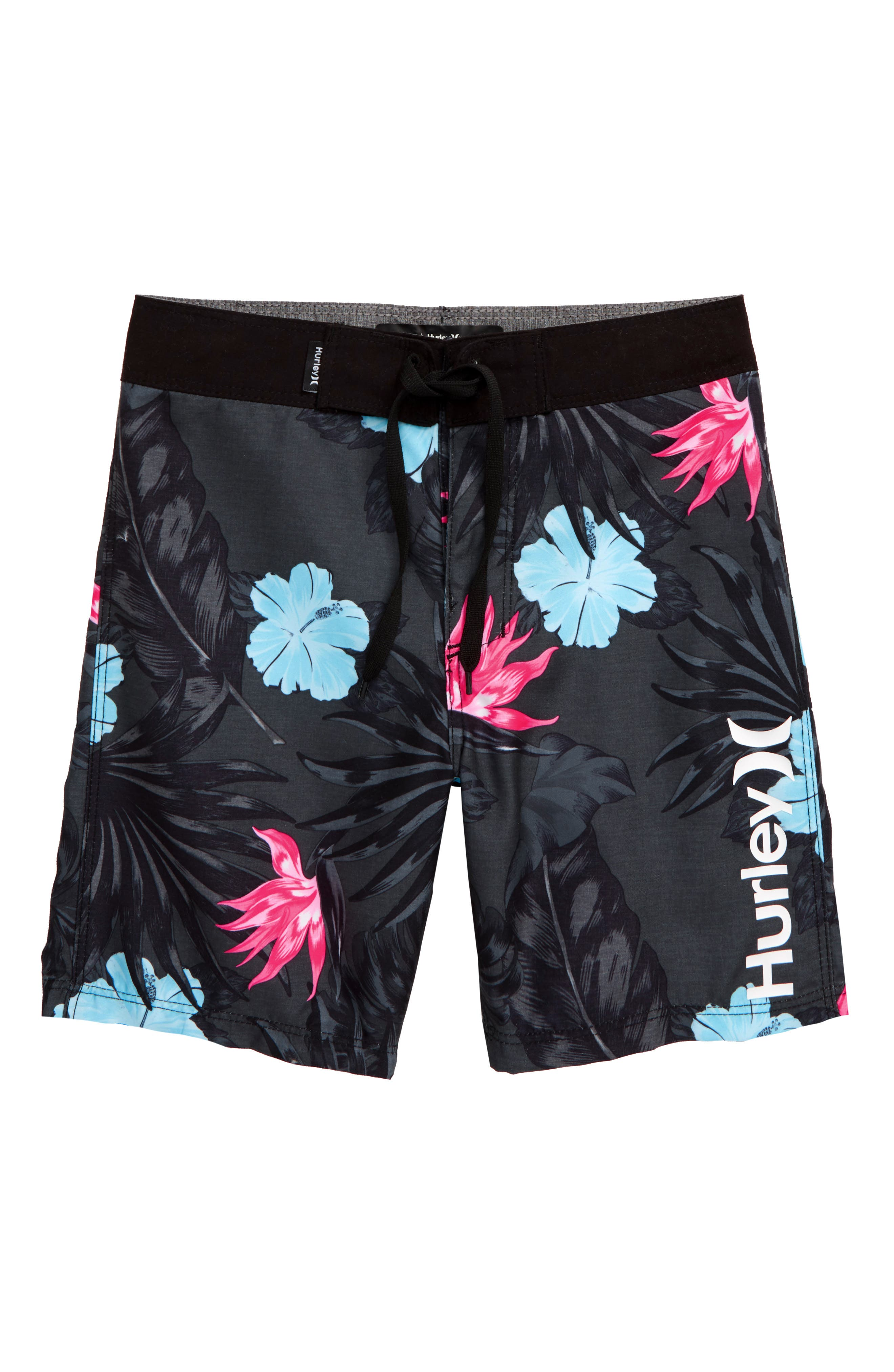 Hkany Moon-Star Teenager Boys Beachwear Beach Shorts Pants Board Shorts