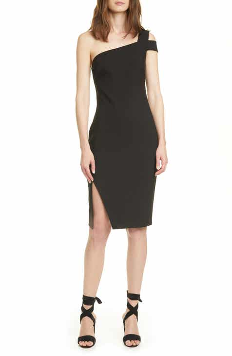 LIKELY Packard One-Shoulder Sheath Dress
