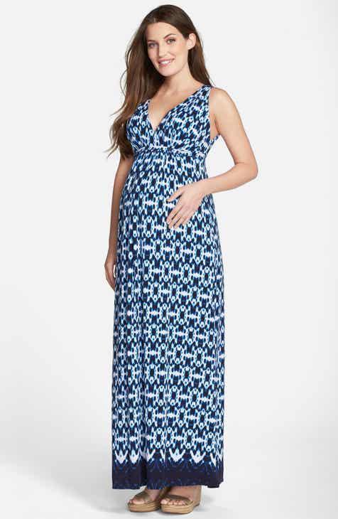 Women\'s Long Maternity Dresses | Nordstrom