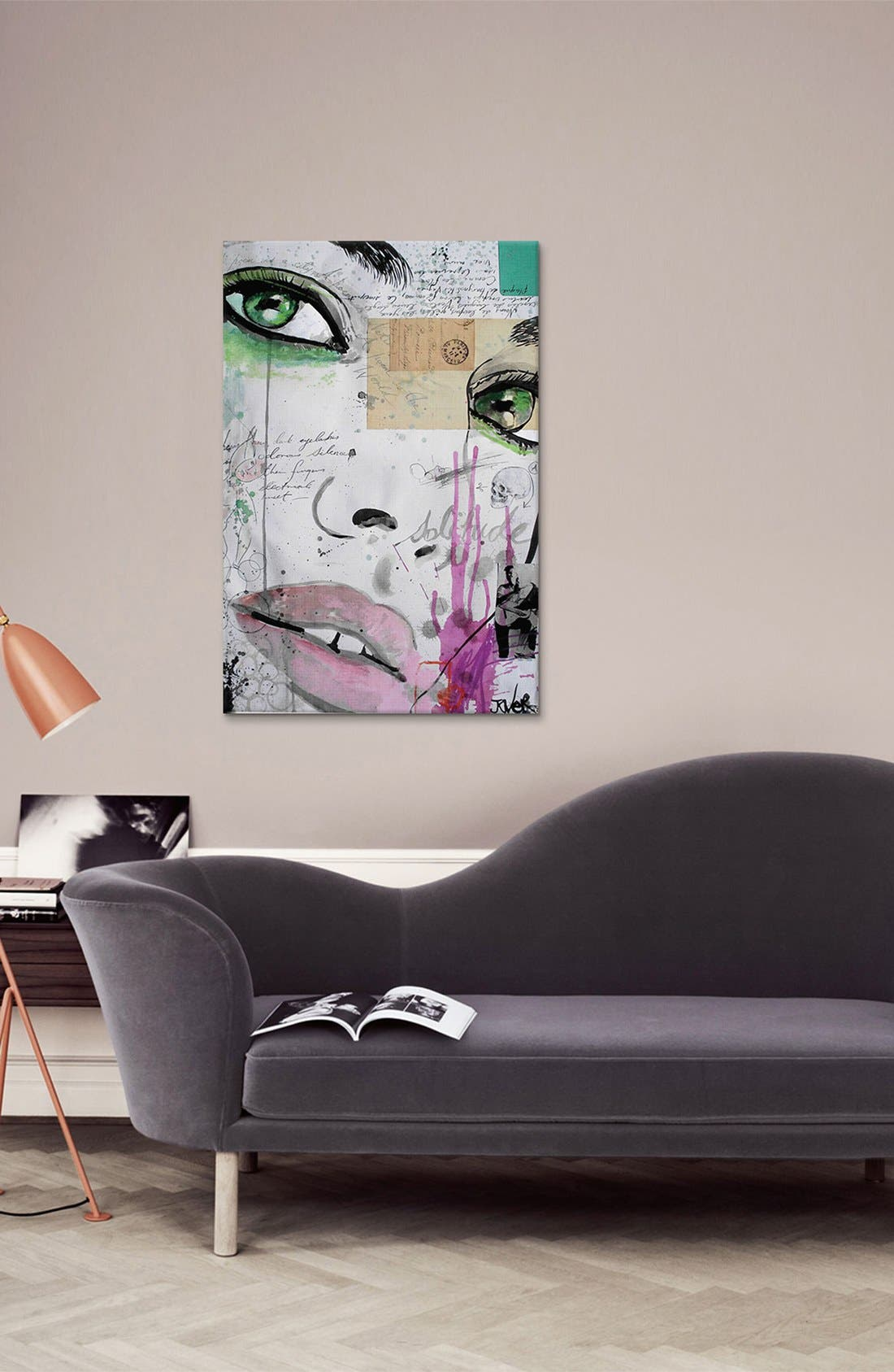 'The Rhythm of Dreams' Giclée Print Canvas Art,                             Alternate thumbnail 2, color,                             Green