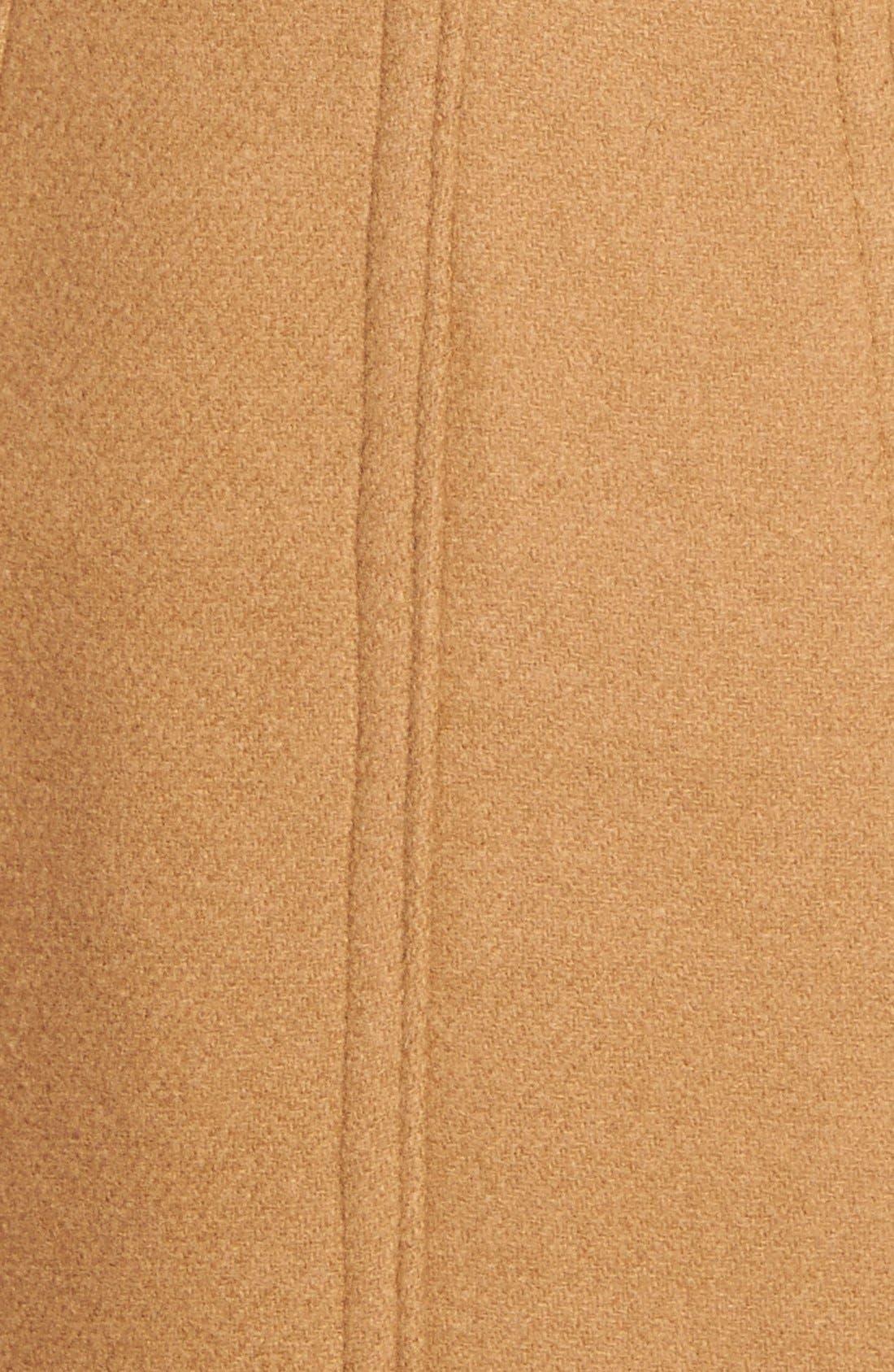 Alternate Image 3  - Kristen Blake Wool Blend Peacoat (Regular & Petite)