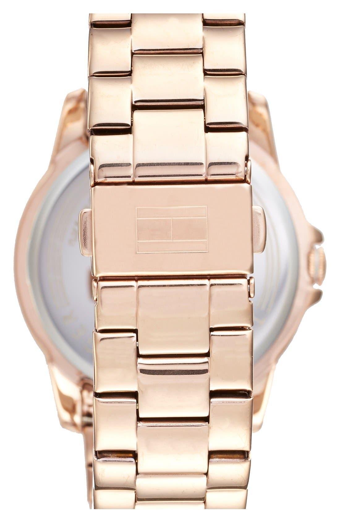 Alternate Image 2  - Tommy Hilfiger Multifunction Bracelet Watch, 38mm