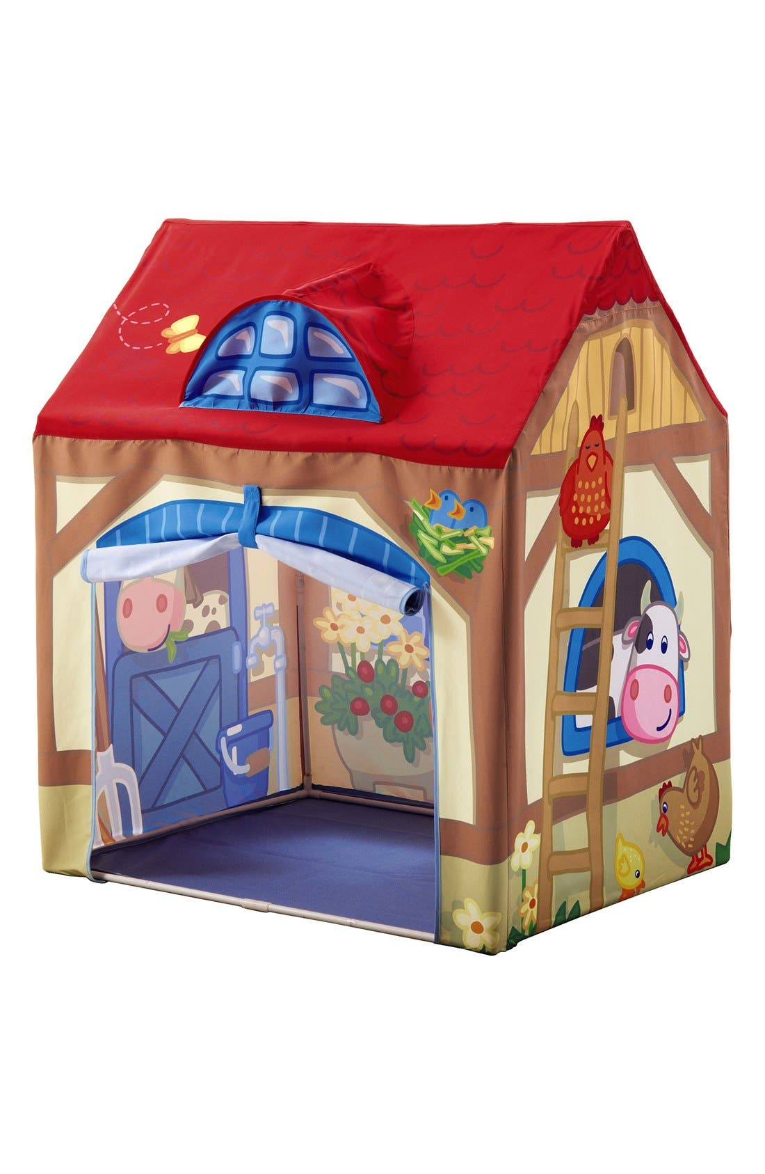 Farm Play Tent,                         Main,                         color, Red