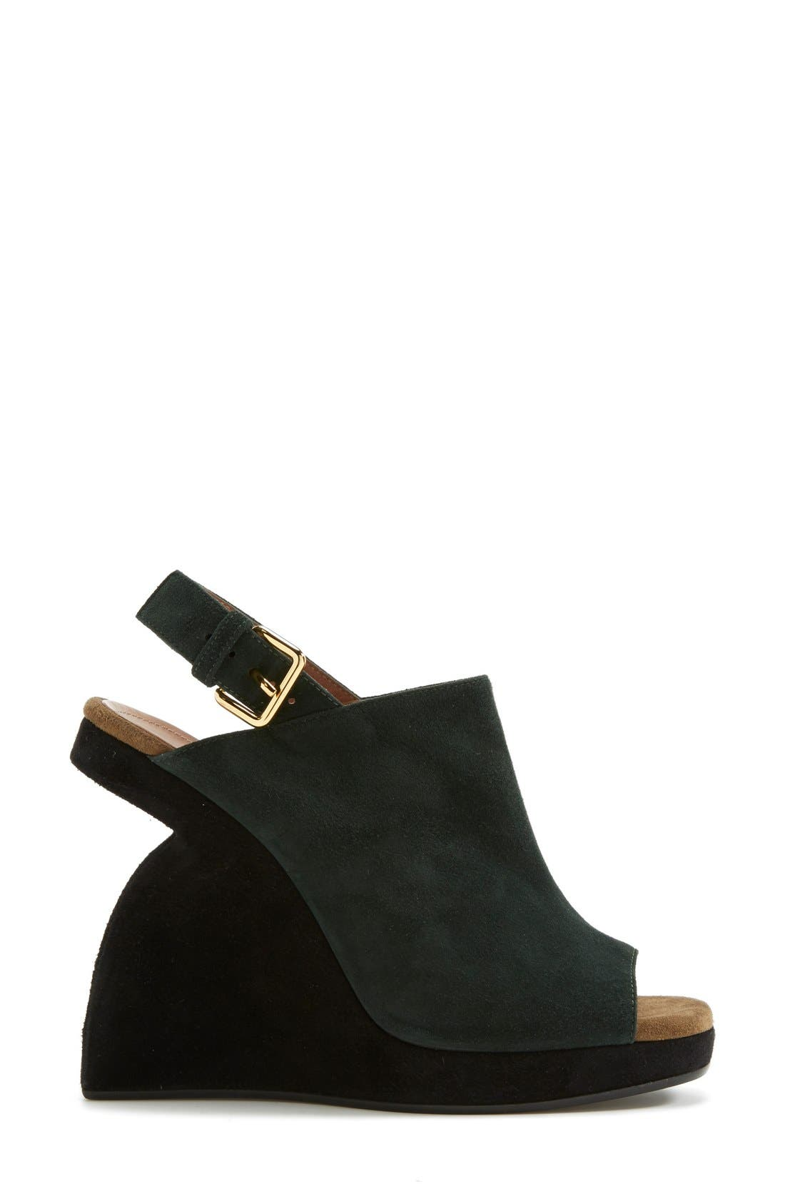 Alternate Image 4  - Marni Slingback Wedge Sandal (Women)