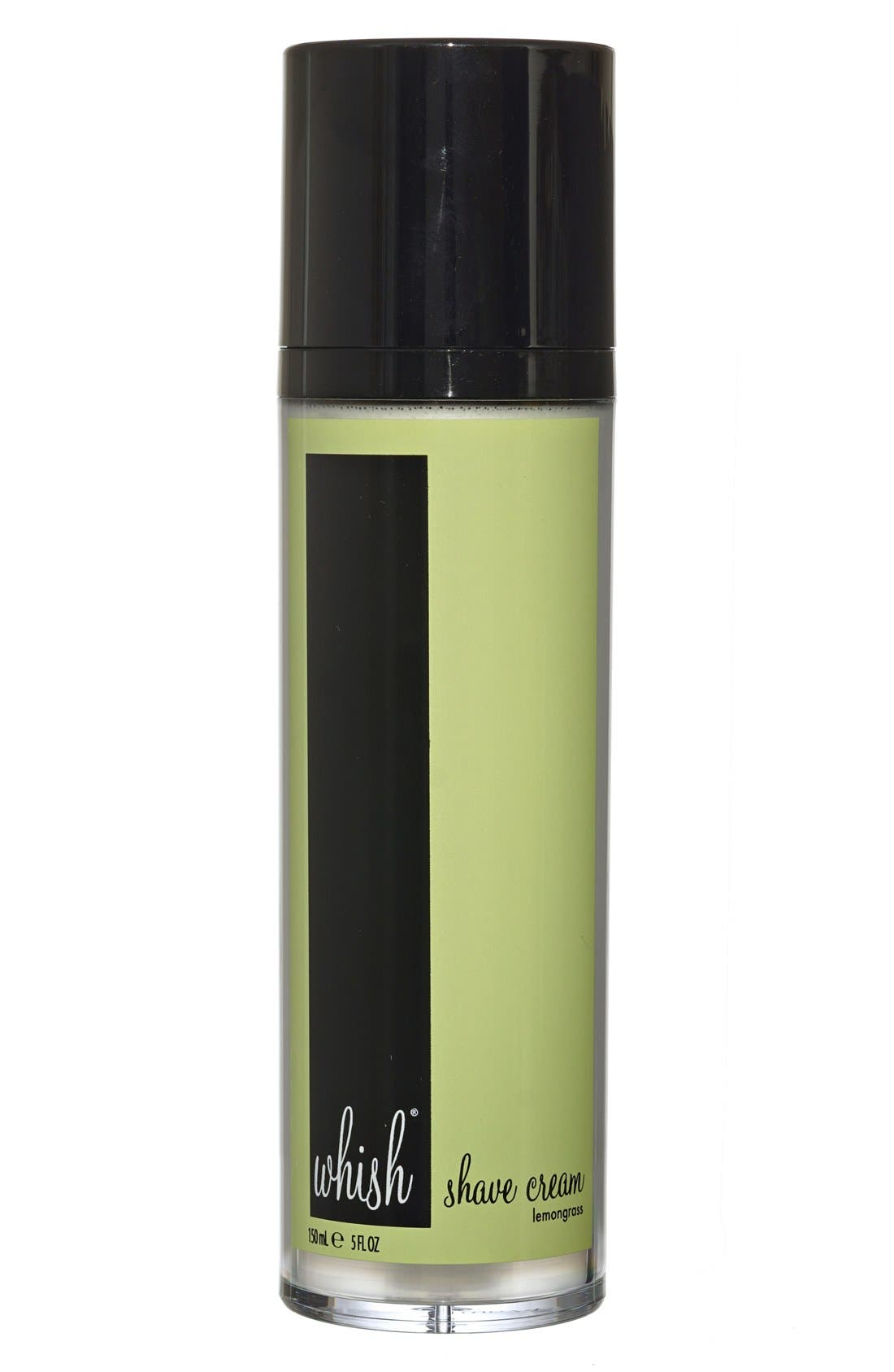 Whish™ Lemongrass Shave Cream