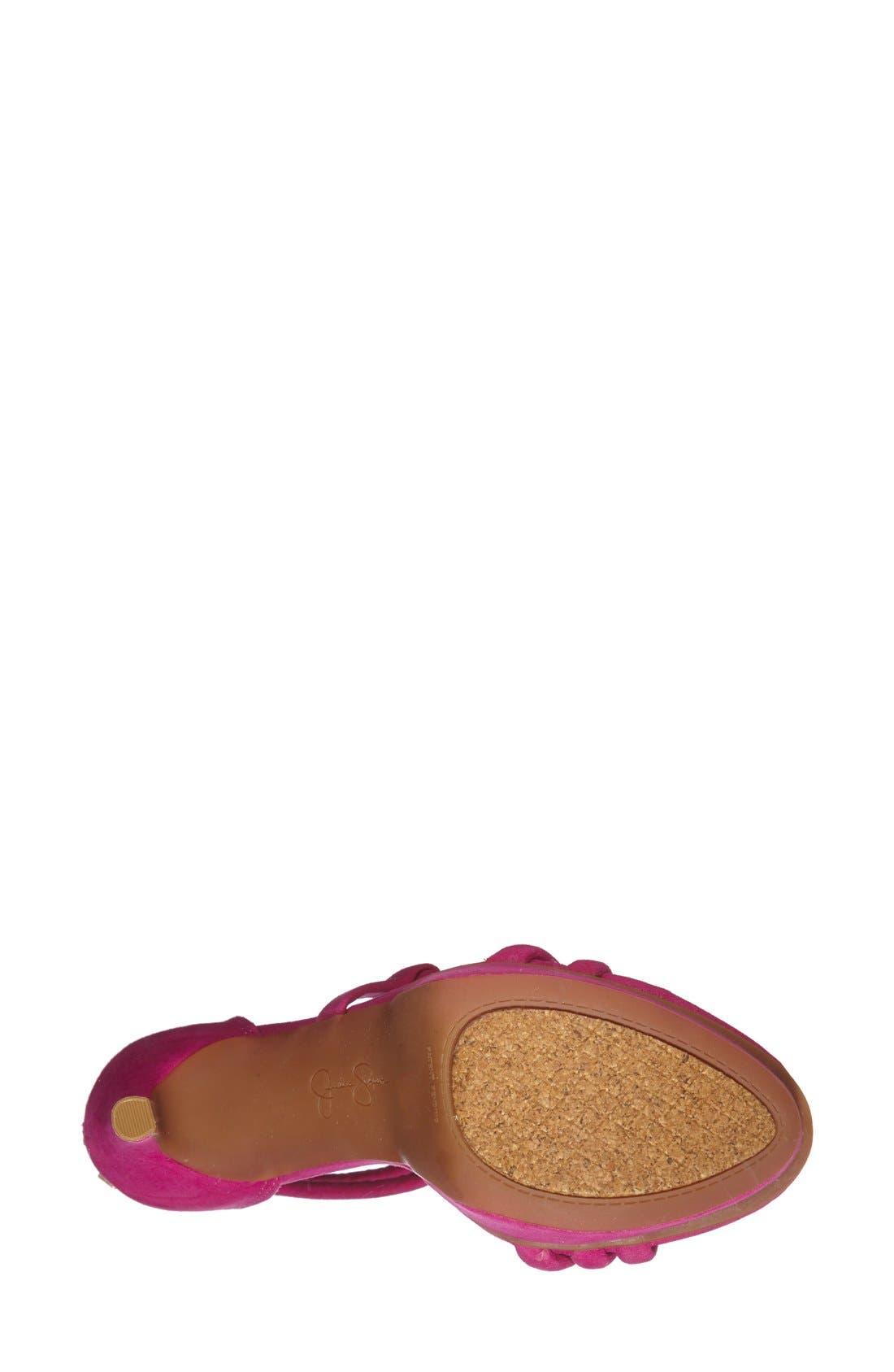 Alternate Image 2  - Jessica Simpson 'Caela' Platform Sandal (Women)