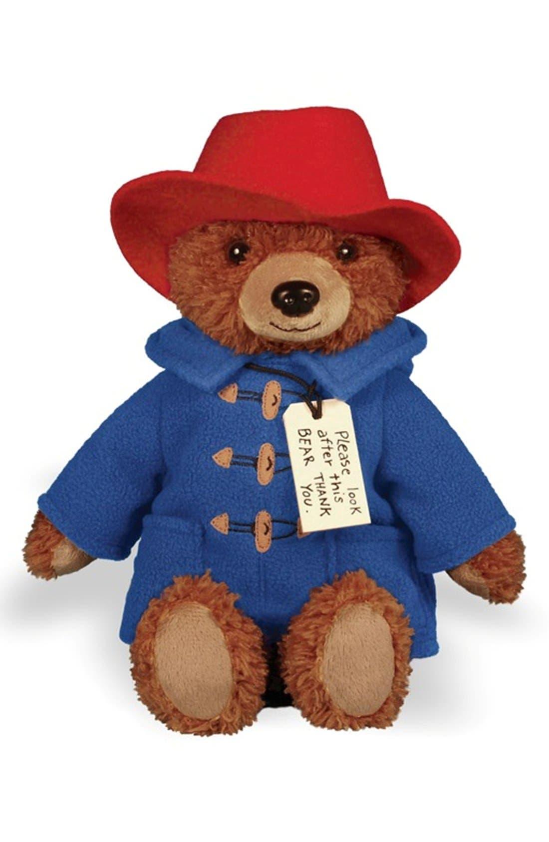 Paddington Bear<sup>™</sup> Stuffed Animal,                         Main,                         color, Brown/ Blue/ Red