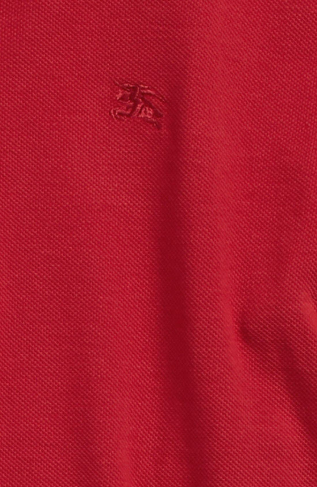 William Cotton Polo,                             Alternate thumbnail 2, color,                             Military Red