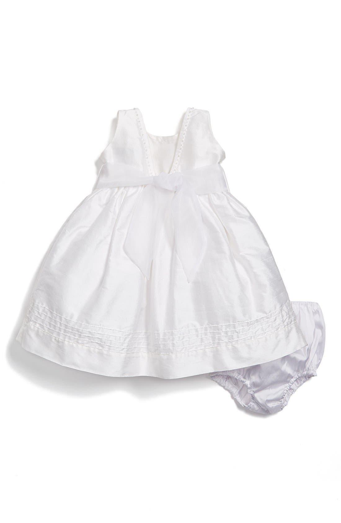 'Melody' Sleeveless Dress,                             Alternate thumbnail 2, color,                             White