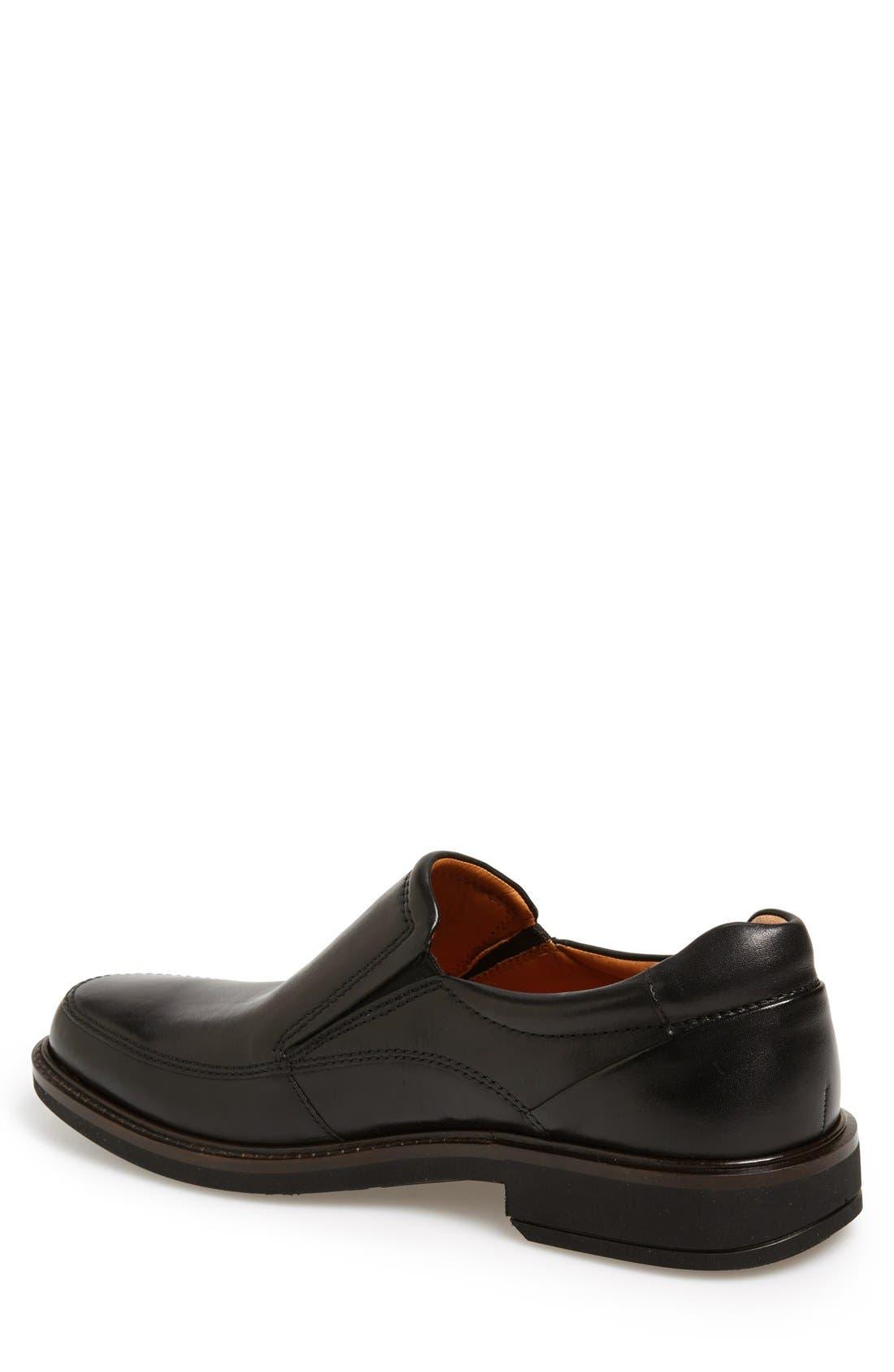Holton Slip-On,                             Alternate thumbnail 2, color,                             Black Leather