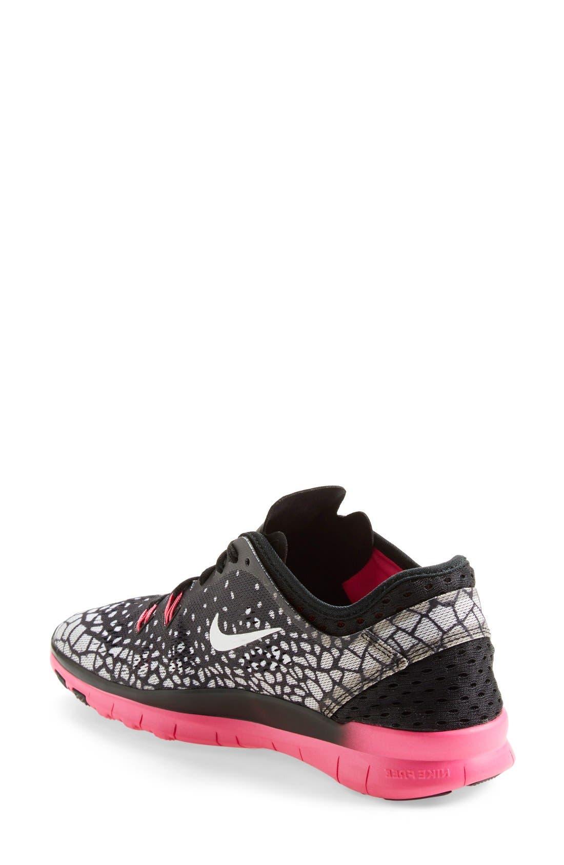 Alternate Image 2  - Nike 'Free 5.0 TR Fit 5 Print' Training Shoe (Women)