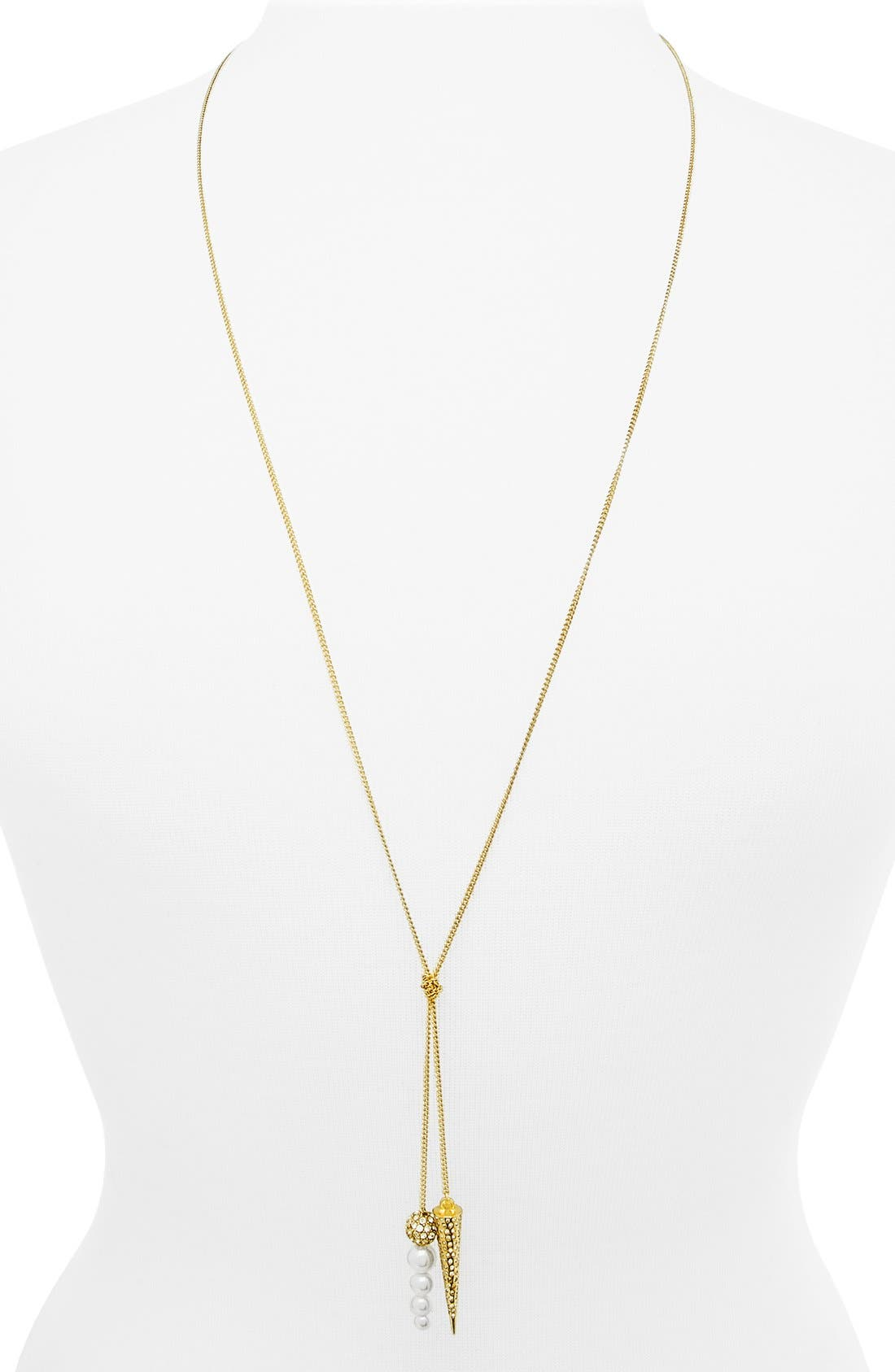 Alternate Image 2  - BaubleBar 'Double Tail' Y-Chain Necklace