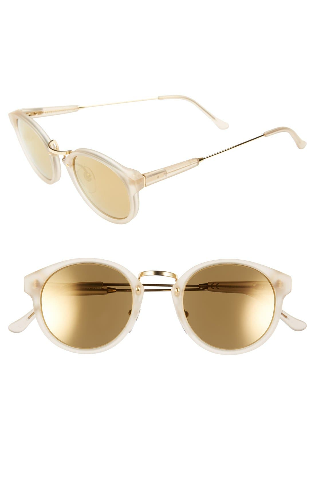 Alternate Image 1 Selected - SUPER by RETROSUPERFUTURE® 'Panama' 46mm Mirrored Sunglasses