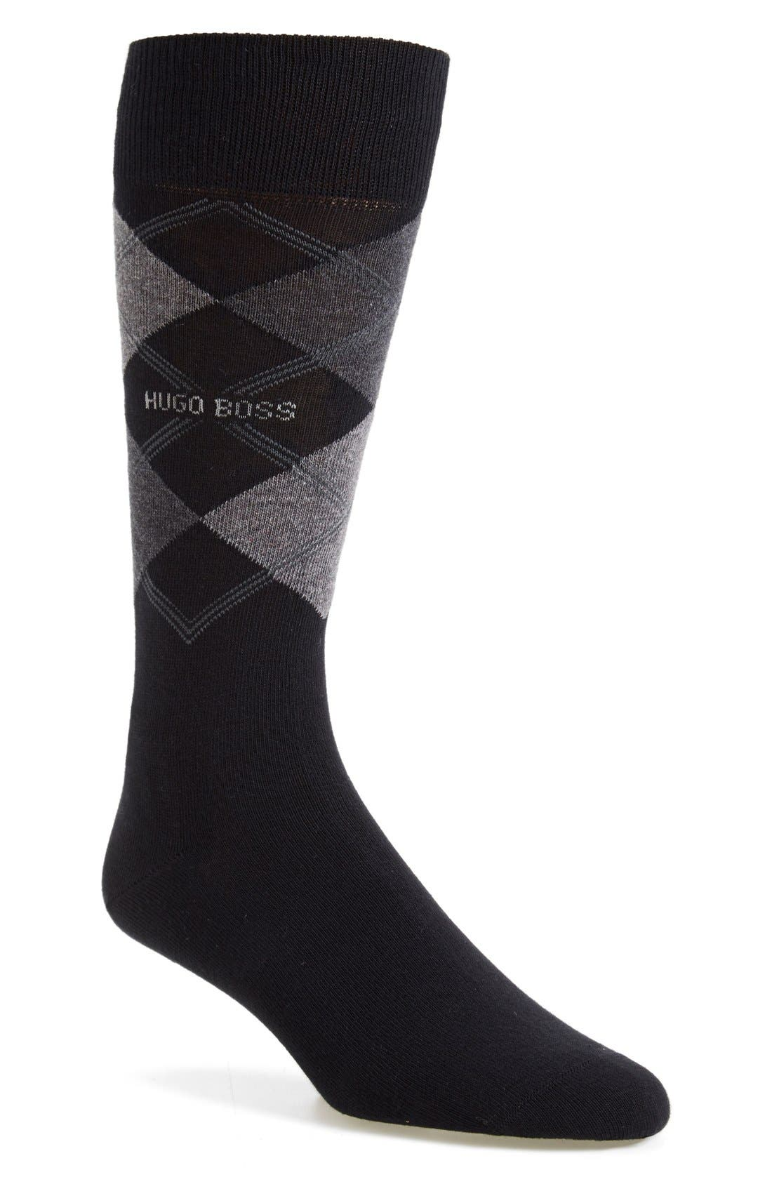 BOSS James Argyle Socks