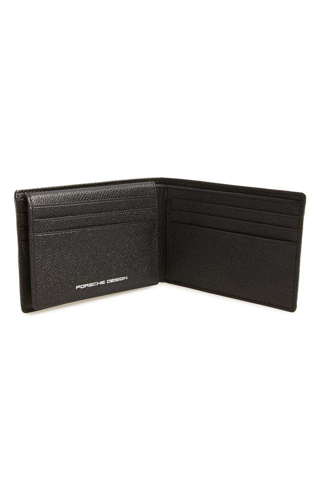 'FC 3.0' Leather L-Fold Wallet,                             Alternate thumbnail 2, color,                             Black