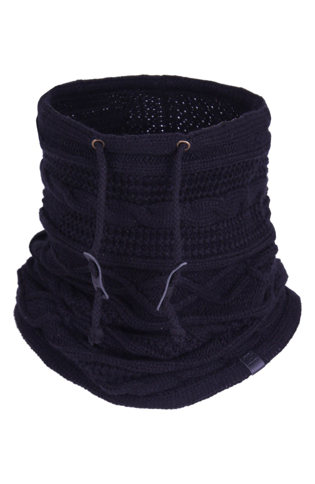 Alternate Image 2  - Bickley + Mitchell Cable Knit Drawstring Snood
