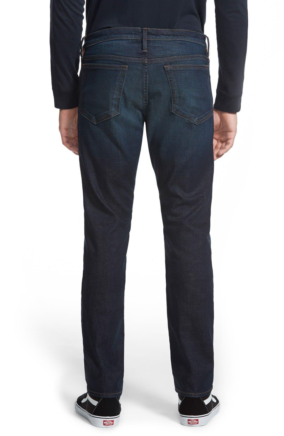 L'Homme Skinny Fit Jeans,                             Alternate thumbnail 2, color,                             Sierra